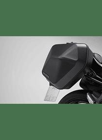 URBAN ABS side case system 2x 16,5 l. Kawasaki Z650 / Ninja 650 (16-).