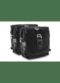 Legend Gear side bag system LC Black Edition Kawasaki W800 Street / Cafe (18-).