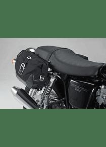 Legend Gear side bag system LC Triumph Thruxton 900 (04-15)/Bonneville SE(04-16).