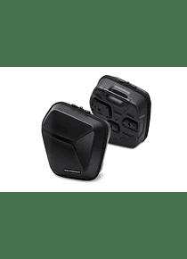 URBAN ABS side case system 2x 16,5 l. Triumph Street Twin 900, Thruxton TFC.
