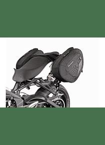 BLAZE H saddlebag set Black/Grey. Street Triple 675 (07-12) / R (08-11).