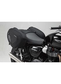 BLAZE H saddlebag set Black/Grey. Thruxton,Bonne/T,SpeedStreetTwin/C.