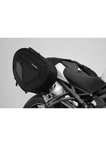 BLAZE H saddlebag set Black/Grey. Triumph Speed Triple S (18-).