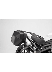 URBAN ABS side case system 2x 16,5 l. Triumph Speed Triple 1050 (18-).