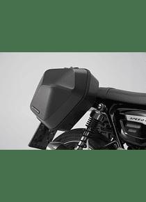 URBAN ABS side case system 2x 16,5 l. Triumph Speed Twin 1200 (18-).