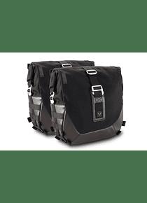 Legend Gear side bag system LC Black Edition Moto Guzzi V9 Roamer/Bobber (15-).