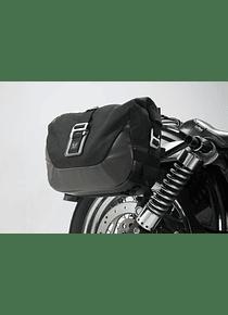 Legend Gear side bag system LC Dyna Street Bob (06-08), Low Rider (06-09).