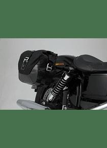 Legend Gear side bag system LC Harley Davidson Dyna Wide Glide (09-17).