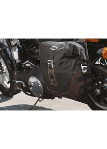Legend Gear side bag system LC Harley Davidson Dyna Low Rider, Street Bob (09-).