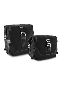 Legend Gear side bag system LC Black Edition Harley Davidson Dyna Low Rider, Street Bob.
