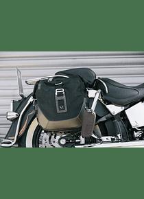 Legend Gear side bag system LC Harley Davidson Softail Fat Boy, Breakout.