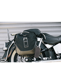 Legend Gear side bag system LC Harley Davidson Softail Deluxe, Heritage Classic.