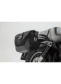 Legend Gear side bag system LC Harley Davidson Dyna Fat Bob (08-).