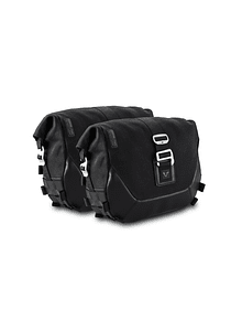 Legend Gear side bag system LC Black Edition Harley-Davidson Dyna Fat Bob (08-).
