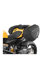 BLAZE H saddlebag set Black/Grey. Ducati 848 Streetfighter (11-).