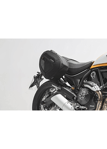 BLAZE H saddlebag set Black/Grey. Ducati Scrambler (14-).