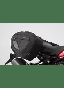 BLAZE H saddlebag set Black/Grey. Ducati Monster 1200 R (16-).