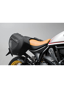 BLAZE H saddlebag set Black/Grey. Ducati Scrambler Desert Sled (16-).