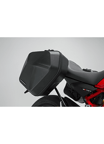 URBAN ABS side case system 2x 16,5 l. Ducati Monster 797 (16-).