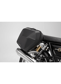 URBAN ABS side case system 2x 16,5 l. Royal Enfield Interceptor/ Continental