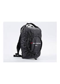 Flexpack backpack 30 l. Black. Water-resistant. Foldable.