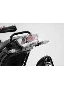 Turn signal relocation Black. BMW R 1200 GS (12-).