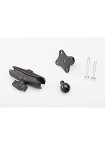 GPS mount for M8 thread 1 ball with M8 screw, RAM arm, GPS mount.