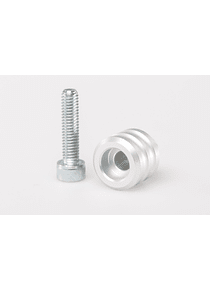 Extension for gear lever 15 mm extension. Silver. Universal.