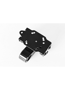 GPS mount with handlebar clamp For  22 mm handlebar. Vibration-damped. Black.