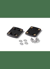 Clip adapter for GPS mount Richter system. Black.