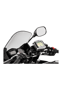GPS mount for handlebar Black. Honda / Triumph / Yamaha models.