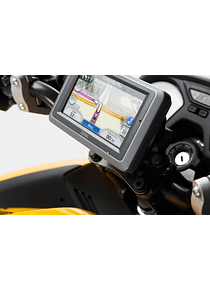 GPS mount for handlebar Black. BMW / Honda / Suzuki models.