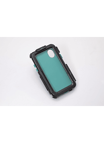 Hardcase for iPhone X / XS For GPS mount. Splashproof. Black.