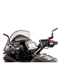GPS mount for cockpit Black. Honda VFR800X Crossrunner (11-14)/(16-).