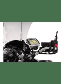 GPS mount for handlebar Black. Honda VFR 1200 X Crosstourer (11-).