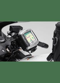 GPS mount for cockpit Black. Suzuki GSX 1300 R Hayabusa (99-).