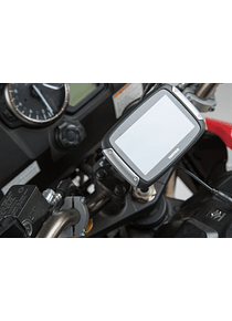 GPS mount for handlebar Black. Suzuki V-Strom 650 (17-) / 1000 (14-16).