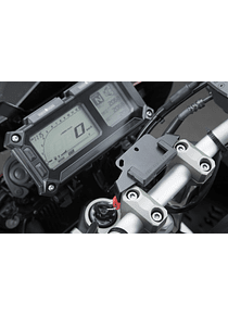 GPS mount for handlebar Black. Yamaha MT-09 Tracer/ Tracer 900GT.