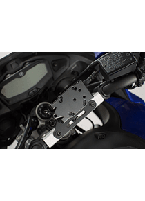 GPS mount for crossbar Black. Yamaha MT-07 Tracer (16-).