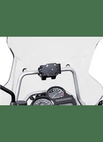 GPS mount for crossbar  17 mm Shock absorbent. BMW R 1200 GS Adventure (08-).
