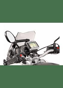 GPS mount for handlebar Black. BMW F800ST (06-12), G650GS/Sertao (11-).