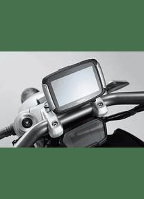 GPS mount for handlebar Black. Ducati XDiavel/S (16-).