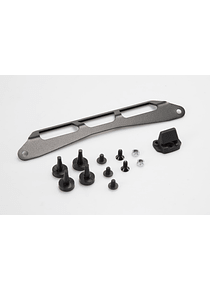 Adapter kit for ADVENTURE-RACK Black. For Givi/Kappa Monolock.