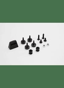 Adapter kit for ADVENTURE-RACK Black. For Givi/Kappa Monokey.