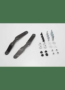 Adapter kit for ADVENTURE-RACK For Krauser K-Wing, Hepco&Becker C-Bow. Black.