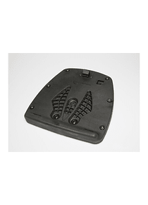 Adapter plate for ALU-RACK For T-RaY top cases L/XL. Black.