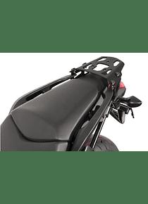 ALU-RACK Black. Honda NC700S/X (11-14),NC750S/X (14-15).