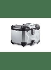 TRAX ADV top case system Silver. CB500X (13-), CB500F (-16),CBR500R (-15).