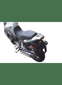 ALU-RACK Silver. Yamaha BT 1100 Bulldog (02-05).