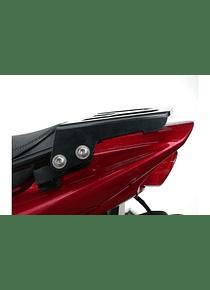ALU-RACK Black. Yamaha FZS 1000 Fazer (00-04).